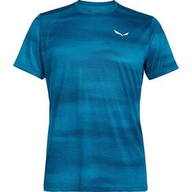 Salewa Puez Graphic 2 Dry t-shirt Heren blauw